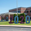 200609 Starpoint Sign<br /> James Neiss/staff photographer <br /> Pendleton, NY - A giant 2020 sign was erected at Starpoint High School to honor this years graduates.