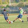 200925 Roy Hart Soccer 1<br /> James Neiss/staff photographer <br /> Middleport, NY - The Royalton-Hartland boys soccer team hit the practice field.