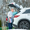 201223 LKPT Enterprise 1<br /> James Neiss/staff photographer <br /> Lockport - Maybe not over the river and through the woods, but Bill Langton was spotted outside his Jesson Parkway home preparing a trip across town with Christmas presents for his grandchildren.