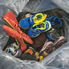James Neiss/staff photographer <br /> Lockport, NY - The Fick family baged up donations of shoes, part of a fundraising effort to help find a cure for Dante Fick, 4, who was diagnosed with SPG52, an ultra-rare neurodegenerative condition.