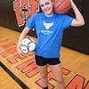 James Neiss/staff photographer <br /> Wilson, NY - Wilson High School athlete Skylar Munnikhuysen.