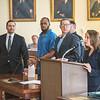 James Neiss/staff photographer<br /> Lockport, NY - Assistant DA Doreen Hoffmann talks to the court during arraignment proceedings for Yasin J. Abous Sabur at Niagara County Court for the murder of Terri Lynn Bills.