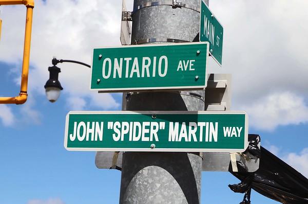 "200731 John ""Spider"" Martin unveiling 2"