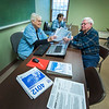James Neiss/staff photographer <br /> Lockport, NY - AARP Tax-Aide volunteer Jean Snyder helps Lockport resident Bill Schryver with tax questions at the Dale Association. The AARP Foundation Tax-Aide Program is available free of charge at the Dale Association Tuesday, Wednesday and Thursdays from 9 a.m. to 4 p.m. free of charge by calling 716-433-1886 for an appointment.
