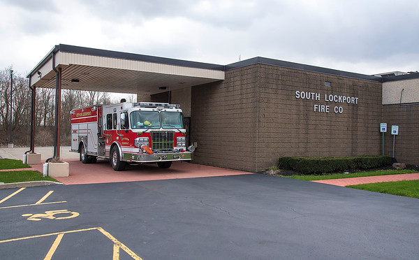 200415 South Lockport Fire Co<br /> James Neiss/staff photographer <br /> Lockport, NY - South Lockport Fire Company.