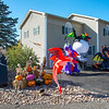 201016 Halloween House 3<br /> James Neiss/staff photographer <br /> Lockport, NY - This home on Lake Road in Wrights Corners is over the top Halloween.