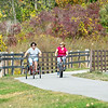 200923 Enterprise 4<br /> James Neiss/staff photographer <br /> Pendleton, NY - Bicyclists enjoy the trails along the Erie Canal near Fisk and East Canal Roads.