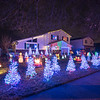 201222 Christmas Lights 6<br /> James Neiss/staff photographer <br /> Niagara Falls, NY - The Niagara Beautification Commission Annual Holiday Decorating Contest Upper LaSalle: 1379 99th Street. The whole light display is synced to music and the yard is full of Christmas trees!