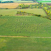 "200929 Corn Maze<br /> James Neiss/staff photographer <br /> Cambria, NY - The Cambria Corn Maze on Lockport Junction Road must have landed a sponsor for this year's labyrinth. For more information visit their website at: <a href=""https://www.cambriacornmaze.com/"">https://www.cambriacornmaze.com/</a>"