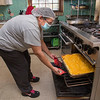 201112 Meals 2<br /> James Neiss/staff photographer <br /> Niagara Falls, NY - Niagara Falls Meals On Wheels cook Krystal Hall checks on the Shepards Pie hot out of the oven.