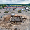200825 Runnings<br /> James Neiss/staff photographer <br /> Lockport, NY - Construction is underway for a new building at the front of the Runnings parking lot.
