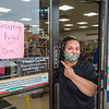 200804 Coin Shortage 2<br /> James Neiss/staff photographer <br /> Niagara Falls, NY - Junith Adams, a sales associate at 7-Eleven on Pine Avenue is happy to accept rolled coins because of a national coin shortage due to COVID-19.
