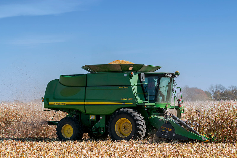 Corn Harvest with Dale 3880-1013