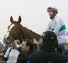 Longines Turf Handicap winner Call the Wind under Olivier Peslier