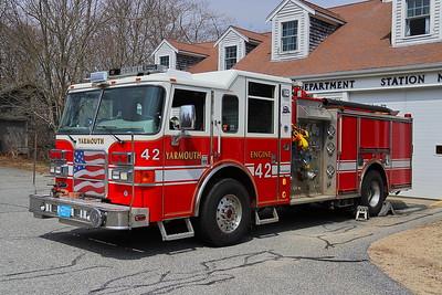 Yarmouth, MA Engine 42 - 2007 Pierce Enforcer 1500/500