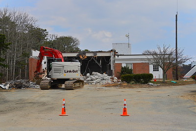 Harwich former Station 2 closed 2019 - torn down April 2020
