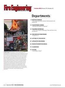 FIRE ENGINEERING October 2020 Contents