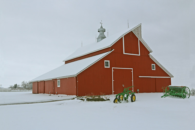 Johnson County Home Barn after restored