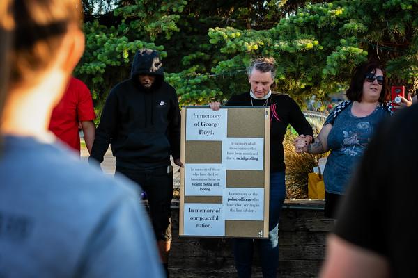 George Floyd Vigil