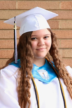 Senior Cap and Gown by Mary Rearick