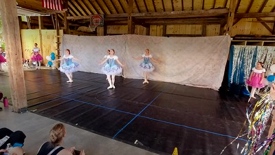 "Intermediate-Advanced Ballet & Point ""Coppelia act 1 Mazurka"""