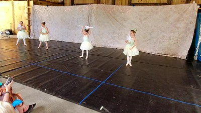 "Beginning-Intermediate Ballet ""Raindrops Keep Falling on My Head"""