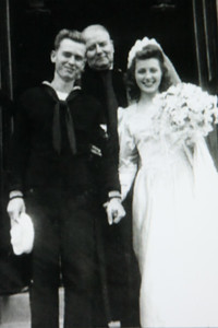 1945 Mom and Dad -1