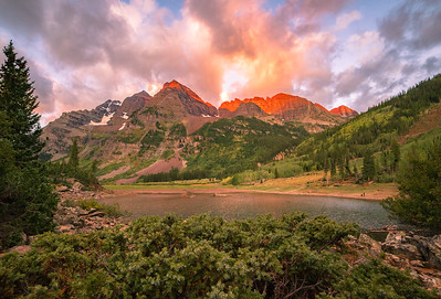 September - Maroon Bells