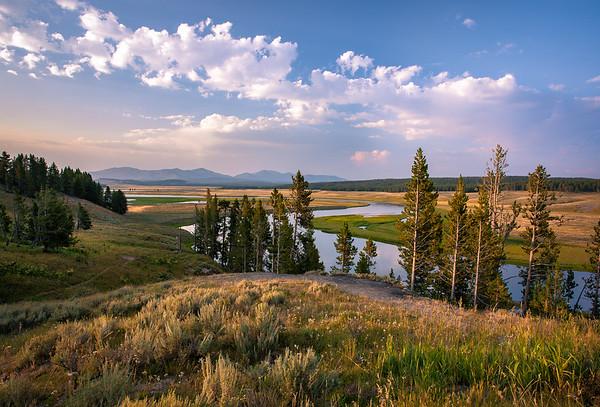 April- Yellowstone