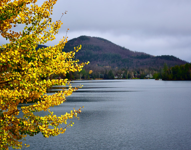 Cloudy Day on Mirror Lake