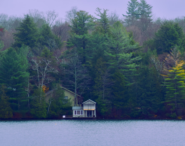 Boat House on Mirror Lake