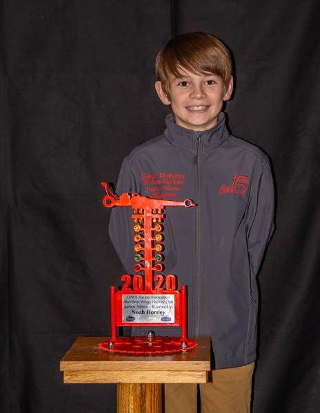 Noah Horsley ~ 2020 Aberdeen Wings Junior Minor R/U