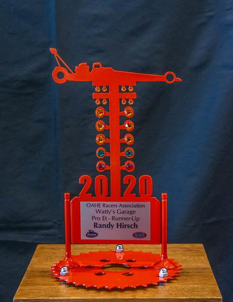 Randy Hirsch ~ 2020 Watty's Garage Pro ET R/U