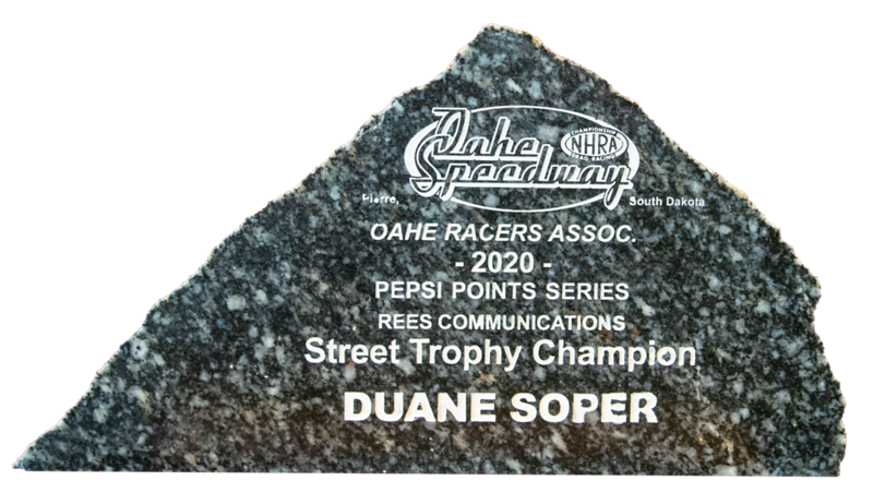Duane Soper ~ 2020 Rees Communications Street Trophy Champion