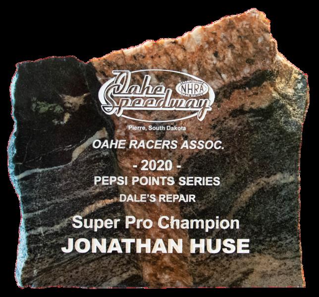 Jonathan Huse ~  2020 Dale's Repair Super Pro Champion