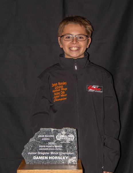 Damen Horsley ~ 2020 Aberdeen Wings Junior Minor Champion