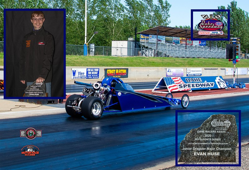 Evan Huse ~ 2020 L&O Farming and Transportation Junior Major Champion