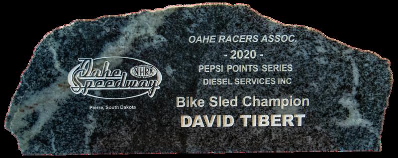 David Tibert ~ 2020 Diesel Services Inc Bike Sled Champion
