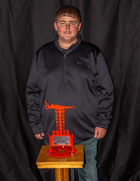 Justin Ehlers ~ 2020 L&O Farming and Transportation Junior Major R/U