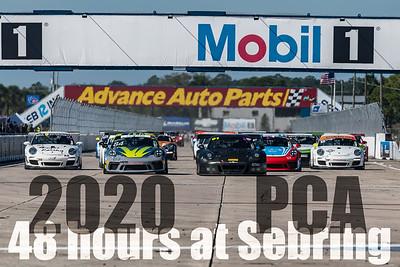 2020 PCA 48 Hours at Sebring