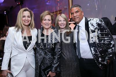 Ami Aronson, Deborah Rutter, Carol Melton, Paxton Baker. Photo by Tony Powell. 2020 Alvin Ailey DC Gala. Kennedy Center. February 4, 2020