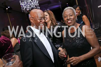Charles Williams, Cathy Evans. Photo by Tony Powell. 2020 Alvin Ailey DC Gala. Kennedy Center. February 4, 2020