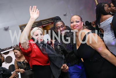 Christine Warnke, Chalvar Monteiro, Nicole Venable. Photo by Tony Powell. 2020 Alvin Ailey DC Gala. Kennedy Center. February 4, 2020