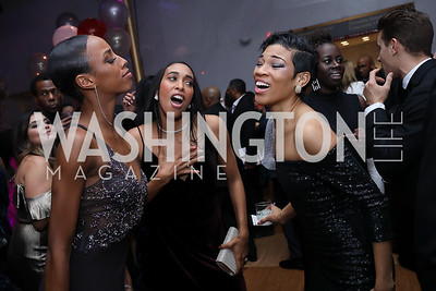 Courtney Spears, Constance Stamatiou, Ghrai DeVore-Stokes. Photo by Tony Powell. 2020 Alvin Ailey DC Gala. Kennedy Center. February 4, 2020