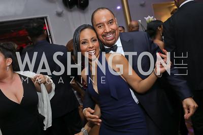 Tycely Williams, JR Clark. Photo by Tony Powell. 2020 Alvin Ailey DC Gala. Kennedy Center. February 4, 2020
