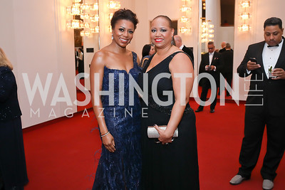 Co-Chair Sela Collins, Vice-Chair Nicole Venable. Photo by Tony Powell. 2020 Alvin Ailey DC Gala. Kennedy Center. February 4, 2020