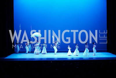 Alvin Ailey American Dance Theater performing Alvin Ailey's Revelations with local students from the DMV. Photo by Tony Powell. 2020 Alvin Ailey DC Gala. Kennedy Center. February 4, 2020