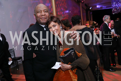 James Hudson and Anne Ashmore Hudson. Photo by Tony Powell. 2020 Alvin Ailey DC Gala. Kennedy Center. February 4, 2020