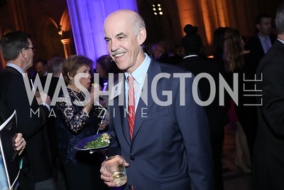 Bob Pinkard. Photo by Tony Powell. 2020 Bishop Walker Annual Dinner. National Cathedral. March 5, 2020