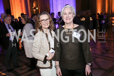 Page Smith, Lizzie Cantacuzene. Photo by Tony Powell. 2020 Bishop Walker Annual Dinner. National Cathedral. March 5, 2020